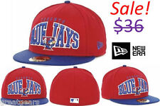 Toronto Blue Jays Men MLB New Era 59Fifty Fitted Baseball Hat Cap Team Apparel