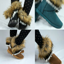 1 Pair New Beautiful Autumn Winter Women Fur Snow Boots Lady Ankle Boots