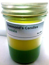 Desmond's Candles Homemade Scented Australia (Sunflowers, Apples) Soy Jar Candle