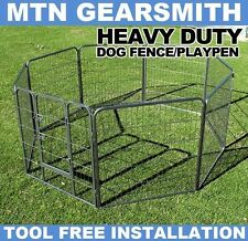 New MTN Heavy Duty Dog Playpen Pet Cage Exercise Pen Fence House