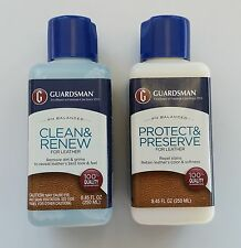 Guardsman Leather Cleaner or Protector - 8.45 OZ