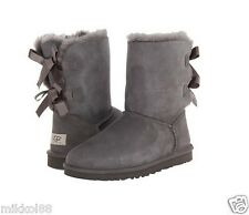 UGG Australia Women's Bailey Bow Boots 1002954 Grey Sz 5-11 BRAND NEW