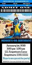 Rio 2 Movie 2014 - Party Invitations - Customized For Your Party