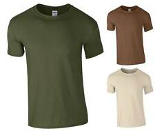 Kids Soft Cotton Military T-Shirt 3-12 Years Camo Army Combat Cadet Childrens