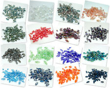 72PCS Facet Bicone Crystal Glass Loose Beads 4*8MM  Variety of colors