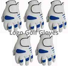 5 Golf Gloves Cabretta Leather Palm 5 Sizes Small Medium Large Extra XL 4 Gents
