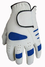 2 Golf Gloves Cabretta Leather Palm 5 Sizes Small Medium Large Extra XL 4 Gents