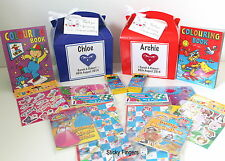 Personalised Childrens Wedding Activity Gift Box Pack Book Party Favour HEART