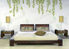 Willow Tree Branches Removable Vinyl Wall Decor Decal Stickers Matte Finish