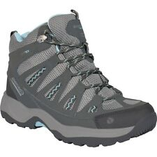 REGATTA LADY AD-TRAIL MID HIKING BOOTS GRANITE/GLASS BLUE RWF229 WALKING OUTDOOR