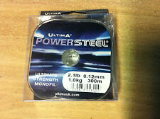 Ultima Power Steel - Various Sizes - Ultimate Strength Monofil