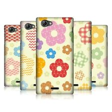 HEAD CASE PATTERNS IN FLORAL PROTECTIVE BACK CASE COVER FOR SONY XPERIA J ST26i