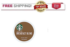 Starbucks Breakfast Medium Roast Coffee Keurig k-Cups YOU PICK THE PACK SIZE