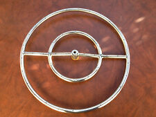 """18""""  Stainless Steel Fire Pit Ring,"""