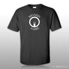 Molon Labe Iron Sights AR-15 T-Shirt Tee Shirt Gildan S M L XL 2XL 3XL Cotton M4