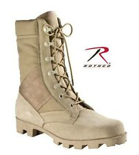 """5057 Rothco 8"""" Desert Tan GI Style Speedlace ARMY Jungle Boot SIZES 5 TO 13"""