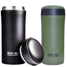 INSULATED THERMAL FLASK AMMO MAG POUCH MUG CUP HOT DRINKS CAMPING TEA COFFEE SAS