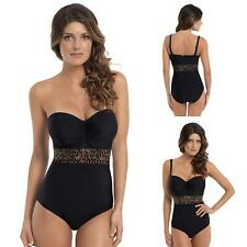 PANACHE Savannah Animal Swimsuit Strapless & Straps 32 34 36 38 D to G Cups