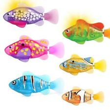 Brand New Robo Fish LED Light Up Water Activated Battery Powered Bath Toy ZURU