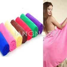 70x140cm Absorbent Microfiber Bath Beach Towel Drying Washcloth Swim Car Shower