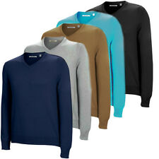 ASHWORTH GOLF MERINO SWEATERS - RANGE OF COLOURS AND STYLES - BRAND NEW