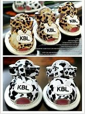 Pet Dog Boots Leopard Puppy Sandals Rubber Soles Shoes 2 Colors For Small Dog