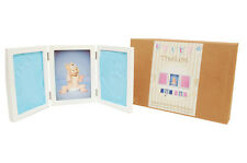 Baby Keepsake Hand Foot Casting Print Clay Imprint Kit Photo Frame Pink or Blue