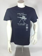 Guns Don't Kill People - They Just Make It a Lot Easier T shirt  Funny cool