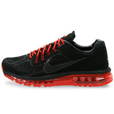 Nike Air Max 2013 EXT Black-University Red Mens Running Shoes 554967-006