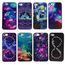 Vintage Floral Infinity Galaxy Forever Young Hard Case Cover For iPhone4 4s 5 5s