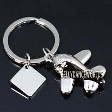 AIRPLANE AIRCRAFT MODEL KEYCHAIN KEY FOB CHAIN RING HOLDER CLASSIC NOVELTY GIFT