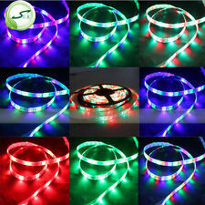 5M 3528RGB Adhesive Strip Light For Kitchen Cabinet Plinth Glass Sofa TV Display