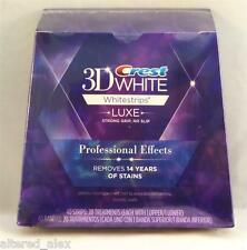 Home Teeth Whitening Kit - Crest3d White Strips Dental Laser Bleach Gel Effects