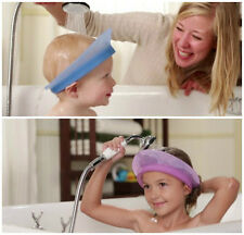 KAIR Air Cushioned Kids Bath Visor - Baby shampoo shields - Toddler Shower Cap