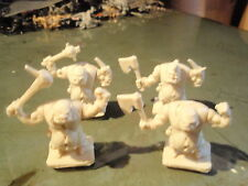 Heroquest 4 types of  white *Ogre*  Against Ogre Horde Elf Quest Pack Hero Quest