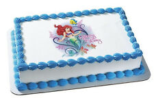 Disney Princess EDIBLE IMAGE for cakes,cupcakes,cookies featuring Ariel