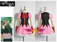 Beyond the Boundary Mirai Kuriyama Idol Da Clothing Cosplay Costumes Custom Made