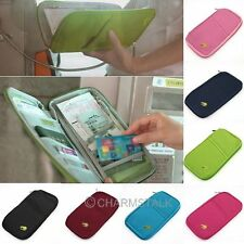 Multi-functional Storage Bags Money Card Wallets Bag Clip Clutch Purses Colorful