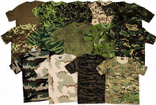 ARMY MILITARY STYLE CAMOUFLAGE CAMO T SHIRT NEW