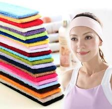 Fashion Cotton Sweatband Hair band Headband for Sports Workout Gym Yoga Tennis