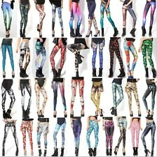 68 Collections S-M,L-XL Corpse Bride GYM Muscle Galaxy Printed Pants Leggings