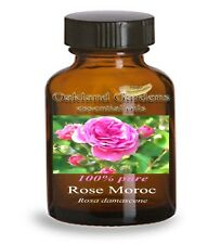 ROSE MOROC Essential Oil - 100% ABSOLUTE ROSE ESSENTIAL OIL  - Therapeutic Grade