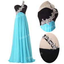 2014 Long  Evening Formal Bridesmaid Wedding Gown Graduation Prom Party Dresses