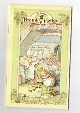CHOICE FROM 17 BRAMBLY HEDGE STATIONARY NOTE BOOKS DIARY / ADDRESS BOOKS ETC