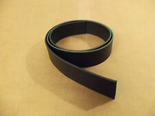 "8/9 oz Black Leather Belt Blanks 54""-60"" (Various Widths)"
