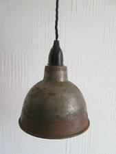 "8"" Dome industrial factory Vintage Retro Old Style pendant light lamp shade"