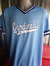 St Louis Cardinals Baseball Mens Jersey Licensed Don Alleson Size S