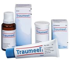 Traumeel S - Tablets, Oral Drops, Gel - Anti-Inflammatory Pain Relief Analgesic