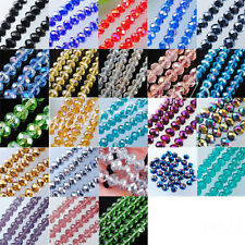 Top Quality Czech Crystal Faceted Loose Beads 4x6MM 5x8MM 7x10MM MBA003