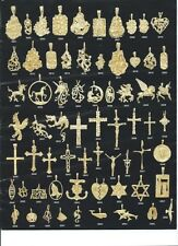 14K Gold Layered Charm Pendants ** Choose Your Favorite **